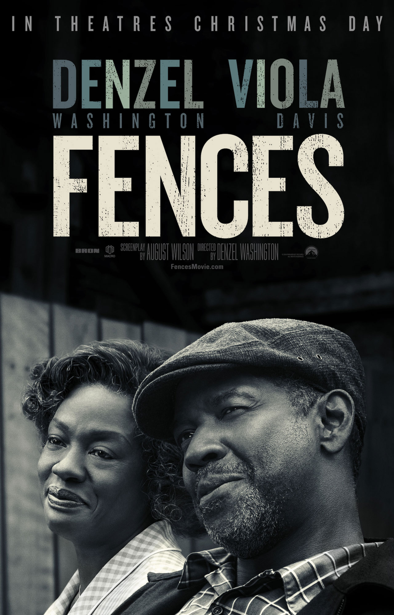 """Oscar Nominated Film """"Fences"""" « Midwest Theater"""